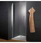 WELLWATER Duschtür »Sirius«, Drehtür, BxH: 90 x 190 cm-Thumbnail