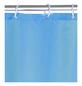 WENKO Duschvorhang »Anti-Schimmel«, BxH: 180 x 200 cm, Uni, hellblau-Thumbnail