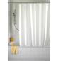 WENKO Duschvorhang »Anti-Schimmel«, BxH: 180 x 200 cm, Uni, weiß-Thumbnail