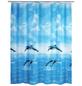 WENKO Duschvorhang »Dolphin«, BxH: 180 x 200 cm, Delfin, mehrfarbig-Thumbnail