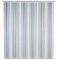 WENKO Duschvorhang »Frozen«, BxH: 180 x 200 cm, Uni, weiß-Thumbnail