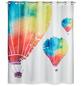 WENKO Duschvorhang »In the Air Flex«, BxH: 180 x 200 cm, Heißluftballon, mehrfarbig-Thumbnail