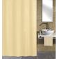 KLEINE WOLKE Duschvorhang »Kito«, BxH: 120 x 200 cm, Uni, natur-Thumbnail