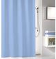 KLEINE WOLKE Duschvorhang »Kito«, BxH: 180 x 200 cm, Uni, blau-Thumbnail