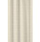 KLEINE WOLKE Duschvorhang »Linen«, BxH: 180 x 200 cm, Streifen, natur-Thumbnail