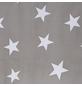 KLEINE WOLKE Duschvorhang »Nova«, BxH: 180 x 200 cm, Sterne, grau-Thumbnail