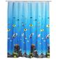 WENKO Duschvorhang »Ocean«, BxH: 180 x 200 cm, Unterwasserwelt, mehrfarbig-Thumbnail