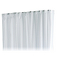 KEUCO Duschvorhang »Plan «, BxH: 140 x 200 cm, Uni, weiß-Thumbnail