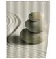 WENKO Duschvorhang »Sand and Stone«, BxH: 180 x 200 cm, Sand/Steine, beige-Thumbnail