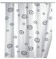 WENKO Duschvorhang »Schnecke«, BxH: 180 x 200 cm, Schnecke, weiß-Thumbnail