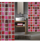 KLEINE WOLKE Duschvorhang »Sonny«, B x H: 180 x 200 cm, Quadrate-Thumbnail