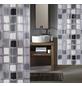 KLEINE WOLKE Duschvorhang »Sonny«, BxH: 180 x 200 cm, Quadrate, anthrazit-Thumbnail