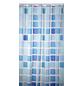 KLEINE WOLKE Duschvorhang »Sonny«, BxH: 180 x 200 cm, Quadrate, blau-Thumbnail