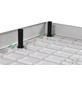 SANOTECHNIK Duschwannenschürze »SMC«, BxLxH: 100 x 100 x 10 cm-Thumbnail