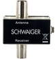 SCHWAIGER DVB-T Antenne, Silber-Thumbnail