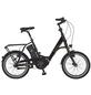 "PROPHETE E-Bike City Schwarz Glänzend 20 "", 7-gang,-Thumbnail"