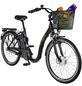 "PROPHETE E-Bike City Schwarz schwarz_glaenzend 26 "", 3-gang,-Thumbnail"