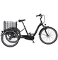 "PROPHETE E-Bike Dreirad »CARGO 3R«, Schwarz 26 "", 3-gang, 13.7ah-Thumbnail"