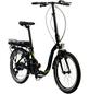 "DEVRON E-Bike »foldable black«, 20"", 7-Gang, 8.8 Ah-Thumbnail"