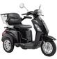 LuXXon E-Trike »E3800«, max. 20 km/h, Reichweite: 60 km, schwarz-Thumbnail