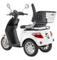 LuXXon E-Trike »E3800«, max. 20 km/h, Reichweite: 60 km, weiß-Thumbnail