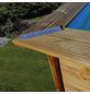 GRE Echtholzpool Poolset , rechteckig, BxLxH: 427 x 1218 x 146 cm-Thumbnail