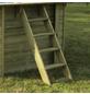 GRE Echtholzpool Poolset , viereckig, BxLxH: 305 x 305 x 119 cm-Thumbnail