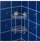 WENKO Eckregal »Bari«, BxH: 22,5 x 29,5 cm, Stahl-Thumbnail