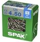 SPAX Edelstahlschraube, 4 mm, Edelstahl rostfrei, 125 Stk., TRX A2 4x50 XXL-Thumbnail