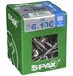 SPAX Edelstahlschraube, 6 mm, Edelstahl rostfrei, 50 Stk., TRX A2 6x100 XXL-Thumbnail
