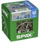 SPAX Edelstahlschraube, T-STAR plus, 200 Stk., 4,5 x 45 mm-Thumbnail