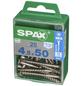 SPAX Edelstahlschraube, T-STAR plus, 25 Stk., 4,5 x 50 mm-Thumbnail