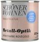 SCHÖNER WOHNEN FARBE Effektfarbe »Trendstruktur«, in Metall-Optik, rosegoldfarben, 0,38 l-Thumbnail