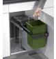 HAILO Einbau-Abfalleimer »Eco L«, grau/anthrazit-Thumbnail
