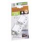 WINDHAGER Einhängewinkel-Montageset, Kunststoff, weiß-Thumbnail
