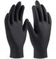 CONNEX Einweghandschuh »Nitril«, schwarz-Thumbnail