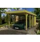 Einzelcarport, BxTxH: 314  x 708  x 241  cm, grün-Thumbnail