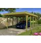 Einzelcarport, BxTxH: 397  x 708  x 241  cm-Thumbnail