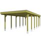Einzelcarport, BxTxH: 557  x 860  x 241  cm, grün-Thumbnail