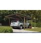 KARIBU Einzelcarport »Eco 2 Variante B«, Außenmaß BxT: 268 x 576 cm, natur-Thumbnail