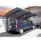 XIMAX Einzelcarport »Portoforte«, Außenmaß BxT: 270,4 x 495,4 cm-Thumbnail