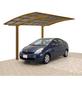 XIMAX Einzelcarport »Portoforte«, Außenmaß BxT: 270,4 x 495,4 cm, bronzefarben-Thumbnail