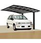 XIMAX Einzelcarport »Portoforte«, Außenmaß BxT: 270,4 x 495,4 cm, schwarz-Thumbnail