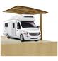 XIMAX Einzelcarport »Portoforte Caravan«, B x T x H: 270,4 x 495,4 x 348 cm, bronzefarben-Thumbnail