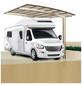 XIMAX Einzelcarport »Portoforte Caravan«, B x T x H: 270,4 x 495,4 x 348 cm, edelstahlfarben-Thumbnail