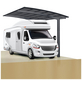 XIMAX Einzelcarport »Portoforte Caravan«, B x T x H: 270,4 x 495,4 x 348 cm, schwarz-Thumbnail