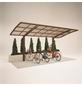 XIMAX Einzelcarport »Portoforte Mini«, Außenmaß BxT: 201 x 495,4 cm, bronzefarben-Thumbnail