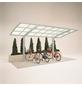 XIMAX Einzelcarport »Portoforte Mini«, Außenmaß BxT: 201 x 495,4 cm, edelstahlfarben-Thumbnail