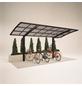 XIMAX Einzelcarport »Portoforte Mini«, Außenmaß BxT: 201 x 495,4 cm, schwarz-Thumbnail