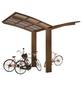 XIMAX Einzelcarport »Portoforte Mini«, Außenmaß BxT: 404 x 253,8 cm, bronzefarben-Thumbnail